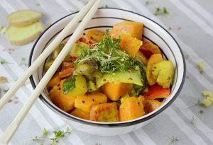 carrotte curry, idées de menus